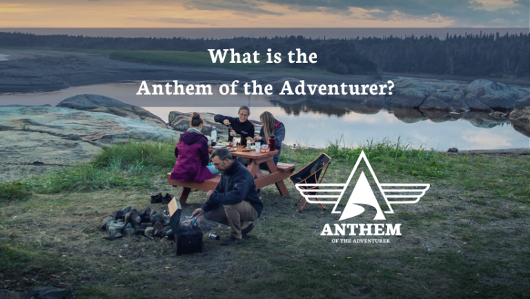 What is the Anthem of the Adventurer?